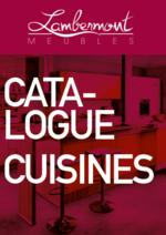Catalogues et collections Meubles Lambermont  : Les cuisines
