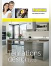 Catalogues & collections Hygena TRIGNAC : Tentations design 2015