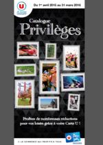 Bons Plans Super U : Catalogue privilèges