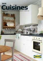 Catalogues et collections IKEA : La brochure Cuisines 2016