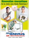 Prospectus Denis Matériaux Redon : Rénovation énergétique
