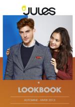 Catalogues et collections Jules : Lookbook automne hiver 2015