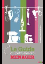 Catalogues et collections Compétence : Automne Hiver 2016 : Le Guide du petit électroménager