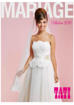 Catalogues et collections Tati : Mariage : collection 2016