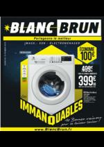 Catalogues et collections Blanc Brun : Les Immanquables