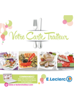 Menus E.Leclerc : Votre carte traiteur