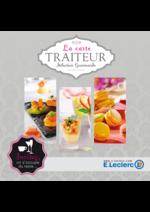 Menus E.Leclerc : La carte traiteur