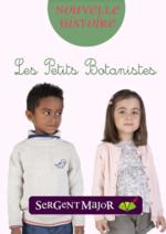 Catalogues et collections Sergent Major : Le lookbook enfant Les petits botanistes