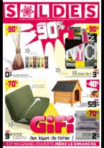 Prospectus Gifi : Soldes  jusqu'à -90%