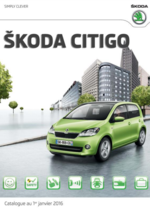 Catalogues et collections Skoda : Feuilletez la brochure Skoda Citigo