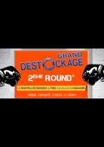 Promos et remises stokomani : Grand déstockage 2ème round