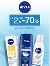 Nivea : le 2ème à -70%