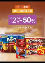 Bons Plans Monoprix : L'heure du goûter : le 2ème à -50%