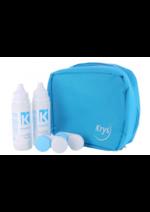 Catalogues et collections Krys : La trousse de voyage Krys à 9,90€