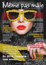 Journaux et magazines Esthétic Center : Même pas mâle n°19 - Janvier-Février 2016