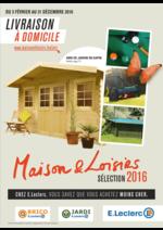 Prospectus E.Leclerc : Maison & Loisirs sélection 2016