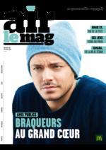 Journaux et magazines Mc Donald's : Air le Mag du mois de Février 2016