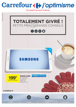 Prospectus Carrefour : Totalement givré ! Petits prix & grands conseils