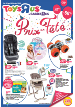 Prospectus Toys R Us : Prix en fête