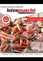 Prospectus Intermarché Super : Choucroute