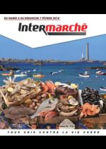 Prospectus Intermarché Super : Au rayon marée
