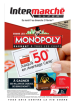 Prospectus Intermarché Hyper : Jusqu'à 50% en avantage carte