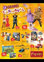 Prospectus Picwic : Le grand carnaval