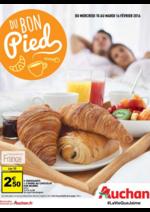 Prospectus Auchan : Du bon pied