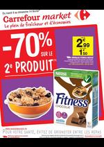 Prospectus Market : -70% sur le 2ème produit
