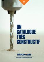 Prospectus Bricoman : Un catalogue très constructif