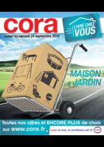 Prospectus Cora : Maison & Jardin