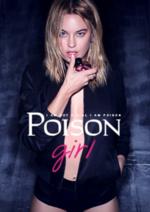 Catalogues et collections Parfum d'O : Nouveau ! Poison Girl de Dior