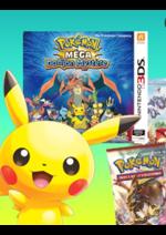 Catalogues et collections Micromania : Les Pokemon sont de retour !