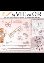 Prospectus Auchan : La vie en or : collection printemps