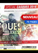 Catalogues et collections Maxxess : Le catalogue casques 2016