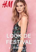 Catalogues et collections H&M : Le lookbook femme Look de festival