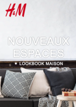 Catalogues et collections H&M : Catalogue maison Nouveaux espaces
