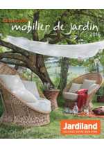 Promos et remises  : La collection mobilier de jardin 2016