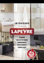 Catalogues et collections Lapeyre : Catalogue Intérieurs 2016