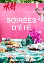 Catalogues et collections H&M : Lookbook maison Soirées d'été