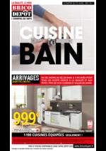 Prospectus Brico Dépôt : Le catalogue Cuisine, bain