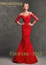 Catalogues et collections Pronovias : Le lookbook Cocktail 2017