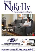 Prospectus Meubles Nikelly : Le mois du salon !