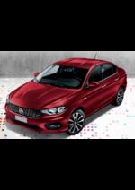 Catalogues et collections Fiat : La nouvelle Tipo à partir de 11 990€