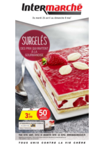 Prospectus Intermarché Super : Surgelés : des prix qui invitent à la gourmandise