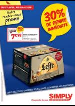 Prospectus Simply Market : 30% de remise immédiate