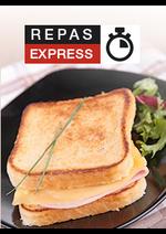 Promos et remises  : Repas express