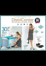 Prospectus distri-center : La mode puériculture