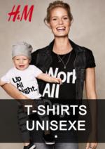 Catalogues et collections H&M : Lookbook T-shirts unisexe