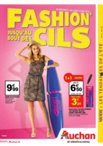 Prospectus Auchan : Fashion jusqu'au bout des cils